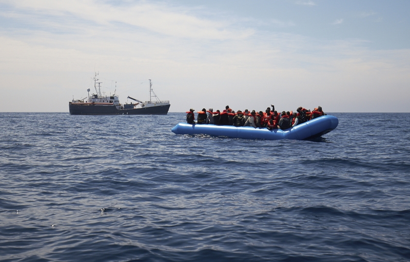 Rescue ship with 64 migrants onboard stuck at Sea after being denied entry
